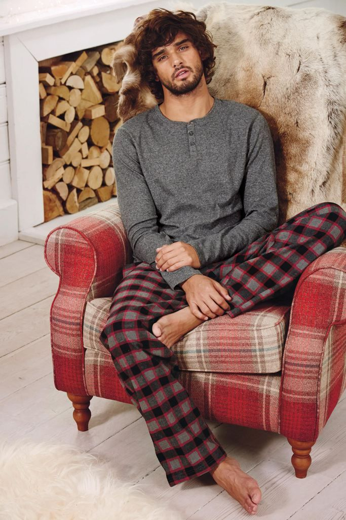 Marlon Teixeira 2015 Next Loungewear 010 Marlon Teixeira Models Leisure Wear for Next