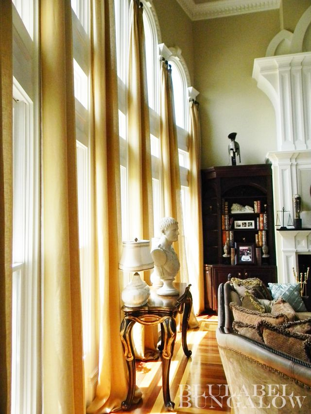 17 best images about two story window treatments on for 2 story window treatments