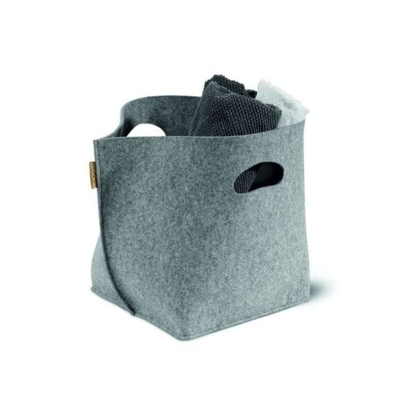 BIN BIN felt basket - Boogie Design  BIN BIN is a basket made of natural woolen felt (100% wool).