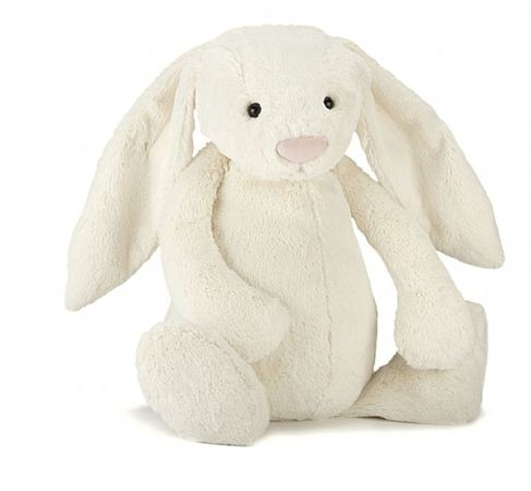 Cream Bashful Bunny