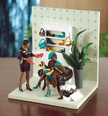 Heel My Sole Figurine - Annie Lee