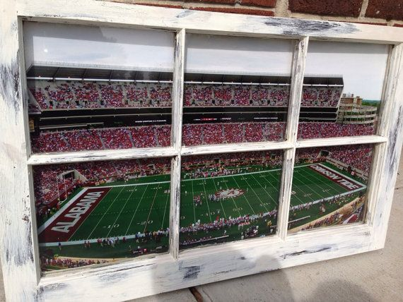 University of Alabama Window by WindowsbyLauren on Etsy, $100.00