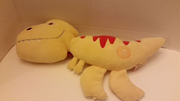 "Disney Store Plush Toy Meet the Robinsons Movie TINY the Yellow Dinosaur 15"" #Disney"