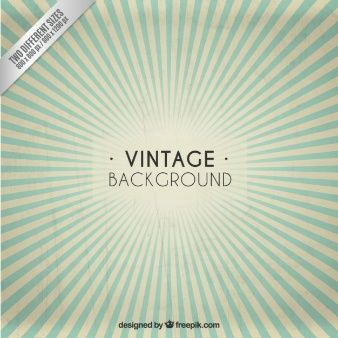 Sunburst vintage background
