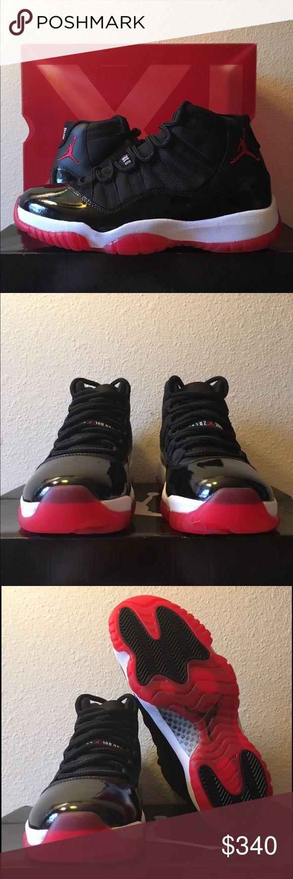 "Air Jordan Retro XI (11) ""Bred/Playoffs"" 2012 Size 8 men's, 9.5 women's / Brand new, never worn, DS / OG all Jordan Shoes Sneakers"