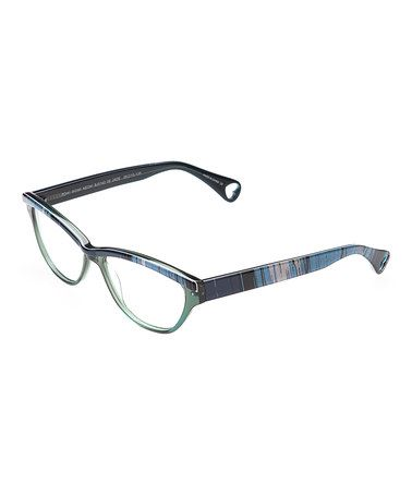 Another great find on #zulily! Jade Painted Eyeglasses by Betsey Johnson #zulilyfinds