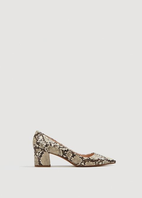 3ada692a8e7 Snakeskin print heeled shoes - Woman in 2019   Alison's Wish List ...