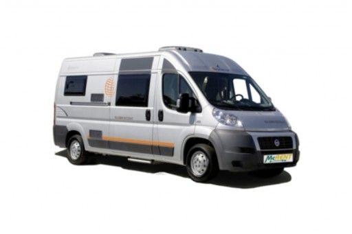 compact standard globecar pössl (or similar) - motorhome rental in the Netherlands.