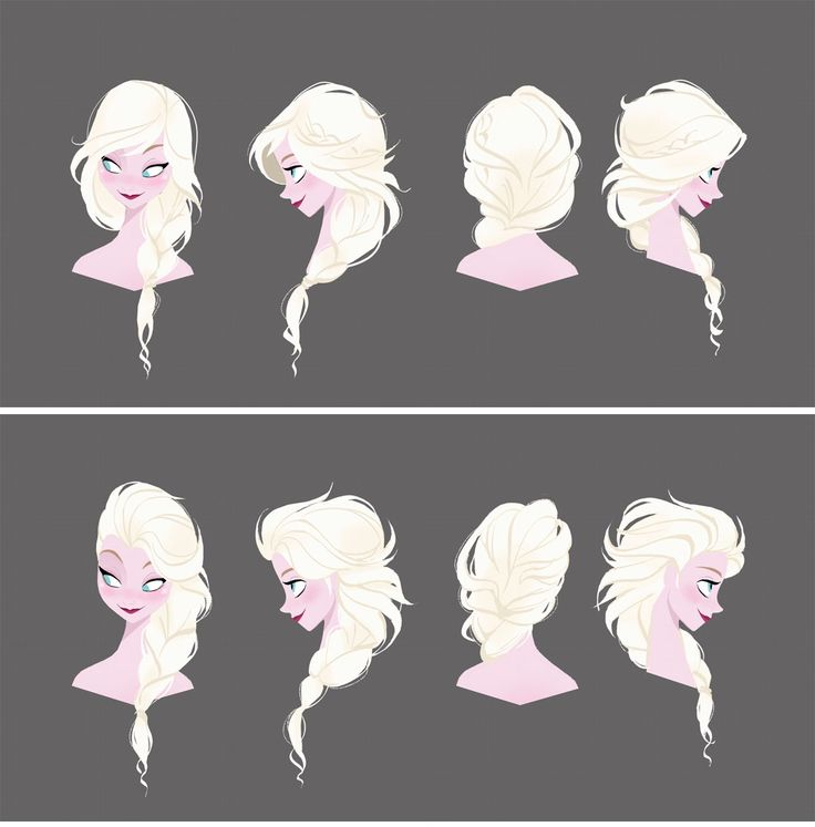 Frozen concept art   Illustrator: Brittney Lee