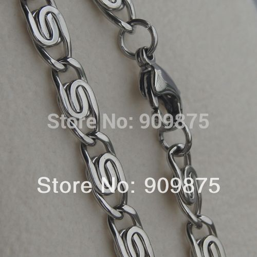cool link men/boy 316L stainless steel chain necklaces & pendants men jewelry punk