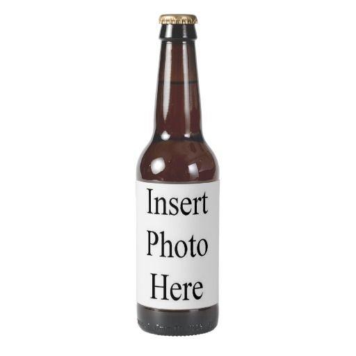 Create Your Own Custom Photo Beer Bottle Label | Beer ...
