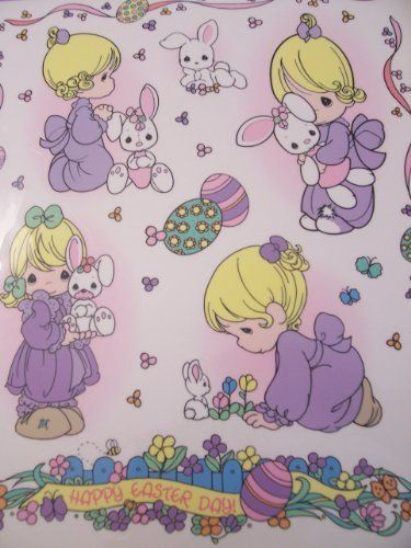 "Precious Moments Window Clings ~Bunny ~ Happy Easter Day by Classic Clings. $9.99. 7 Window Clings on a 11.75"" x 17"" sheet. Reuse year after year!. Peel cling from sheet and smooth onto window with printed side away from window. Precious Moments Window Clings. Bunny! Happy Easter Day. Precious Moments Window Clings ~Bunny ~ Happy Easter Day.  7 Window Clings on a 11.75"" x 17"" sheet.  Peel cling from sheet and smooth onto window with printed side away from window.  Reuse year ..."