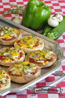My Personal Pizza | Food Hero - Healthy Recipes that are Fast, Fun and Inexpensive