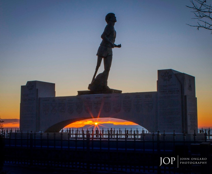 The Terry Fox Monument - Thunder Bay, Ontario