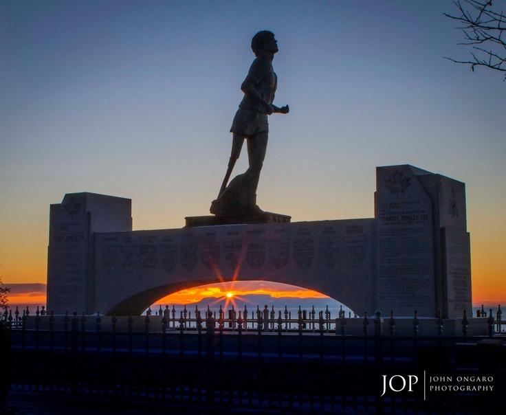 The Terry Fox Monument - Thunder Bay