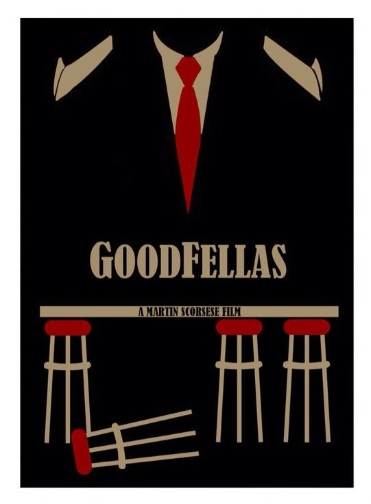 Goodfellas (1990) ~ Minimal Movie Poster by David Peacock