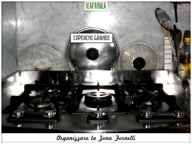Cucina: Organizzare la Zona Cottura - Fornello
