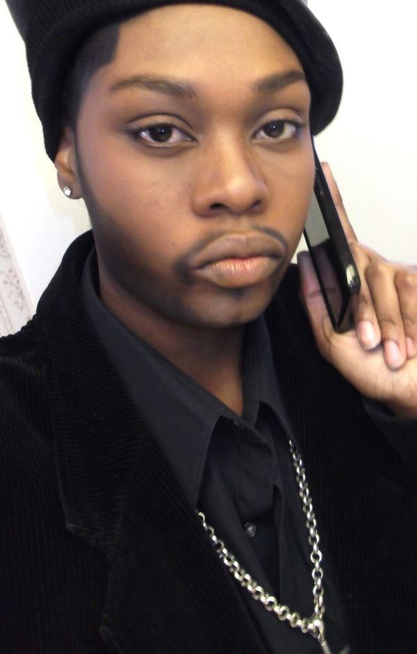 Drag King......DUDE'S A LADY....#legit....If I were a boy....#makeup#yaasss