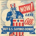 Patriotic Matchbook Cover – Buy Savings Bonds    Be sure to check out all of our Vintage Patriotic Matchbook Covers at http://matchcoverguy.com/category/patriotic/