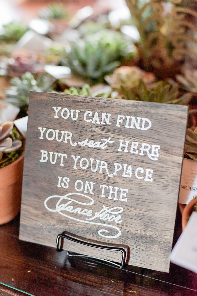 you can find your seat here but your place is on the dance floor | Jenny Smith & Co. | Glamour & Grace