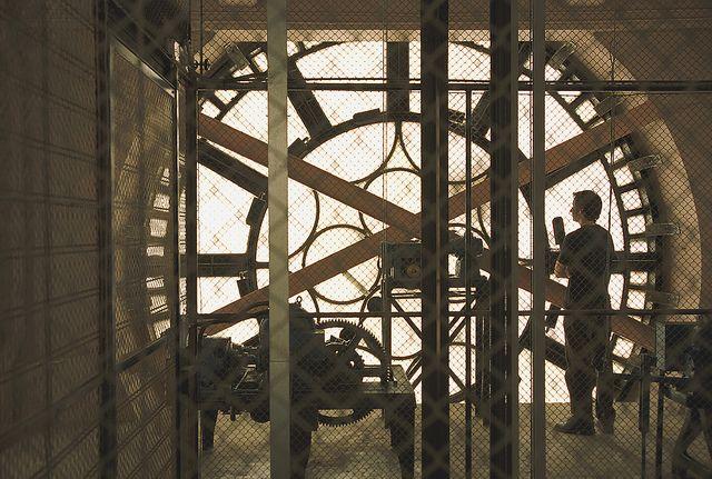 Inside the Brisbane City Hall Clock Tower