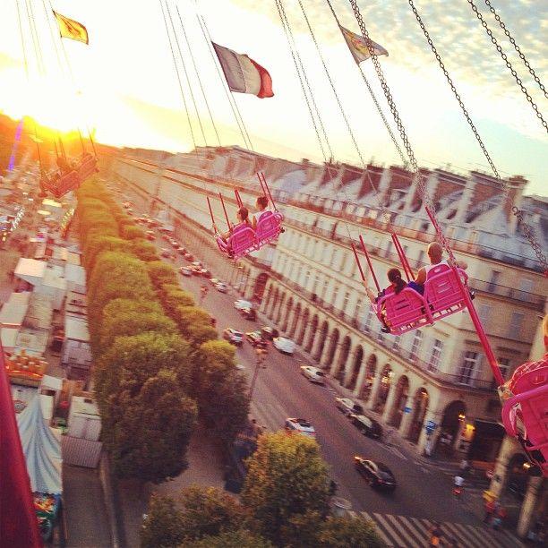 Fête foraine - Jardin des Tuileries Paris