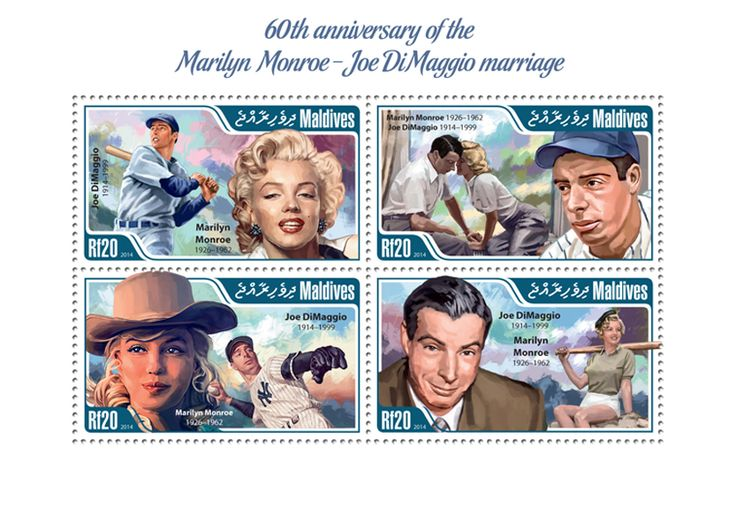 MLD 14405 aMarilyn Monroe – Joe DiMaggio marriage