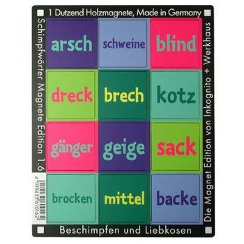 Werkhaus Shop - Schimpfwörter - Edition 1.6