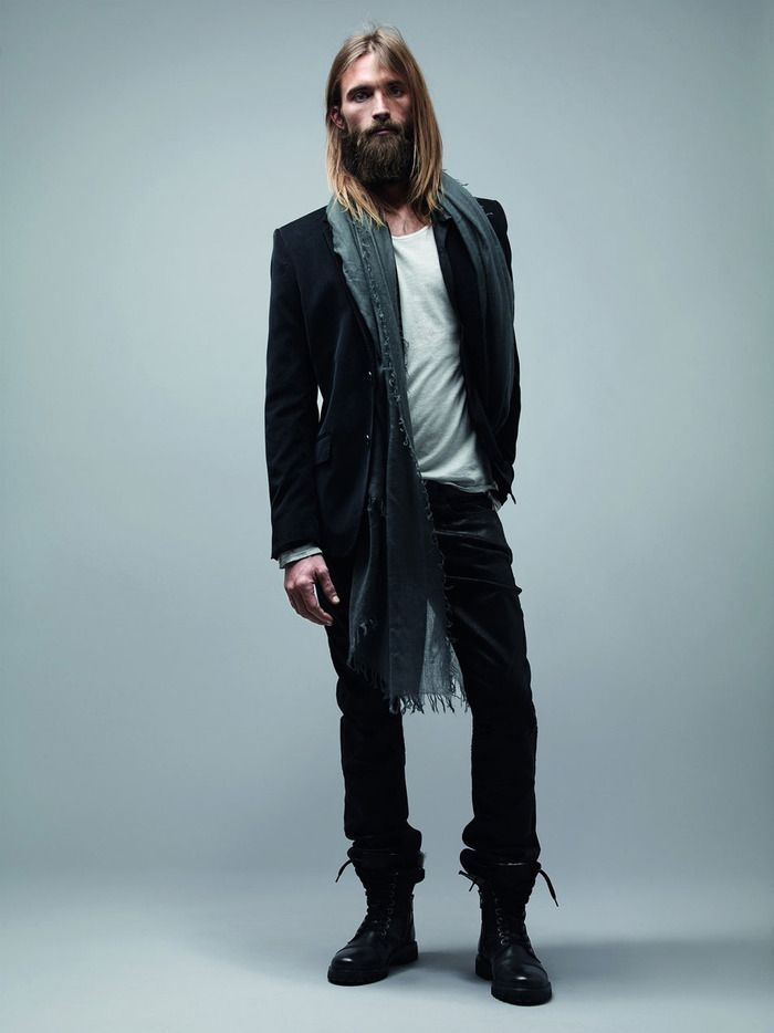 French fashion house shows you some style... in Bearded Lifestyles ...