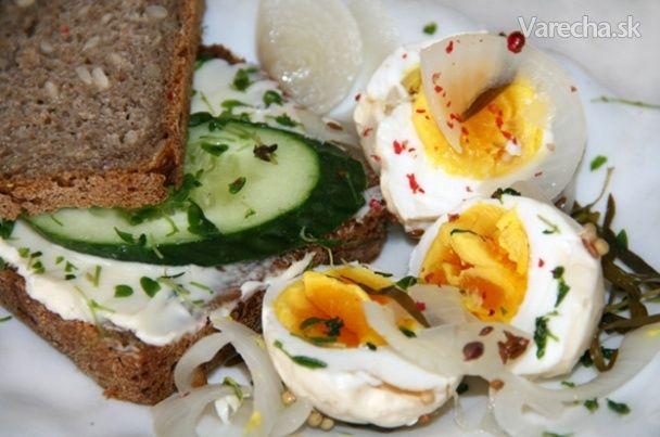 Pikantní nakládaná vejce
