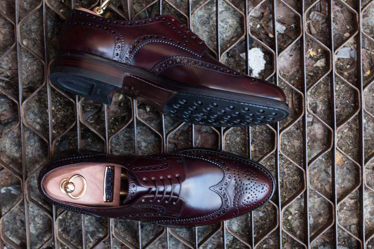 MTO Derby Brogues Cordovan https://patine.shoes