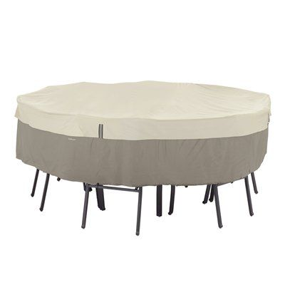 Classic Accessories 55-2 Belltown™ StorageSaver™ Round Patio Table & Chair Cover