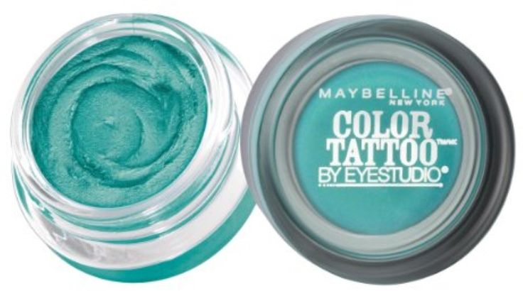 Maybelline EyeStudio Color Tattoo 24Hr Eyeshadow, Edgy Emerald [50], 0.14 oz (Pack of 12) *** See this great product.