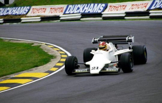 Huub Rothengatter, Spirit-Hart 101B, 1984 British GP, Brands Hatch