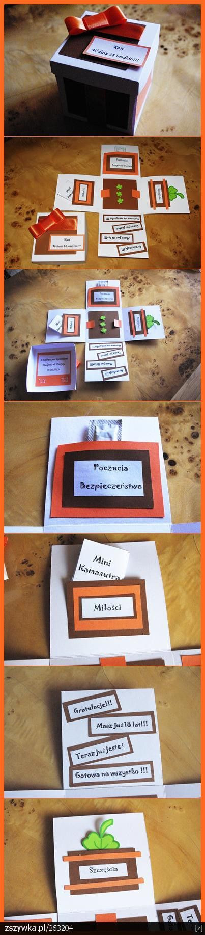 Urodzinowe pudełko.