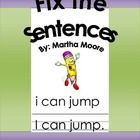 This very simple 2 page worksheet focuses on correcting sentences that are missing capitals and periods. FREECorrect Simple, Classroom Reading Writting, Correcting Sentences, Languages Art, Sentence Worksheets, Worksheets Focus, Correct Sentences, Classroom Ideas, 1St Grade