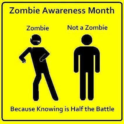 Know your enemy | I Love Zombies | Pinterest | Knowledge ...