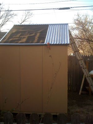17 best ideas about corrugated sheets on pinterest for Attaching shelves to plastic shed