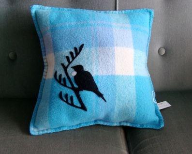 tui felt wool cushion