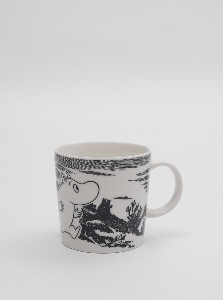 Moomin Mug Adventure...Moomin is a hippo! hooray!