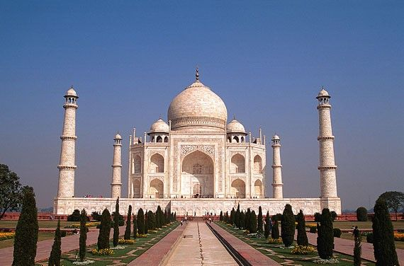 Agra! Already been there! :) One beautiful seven wonders of the world, off my list!