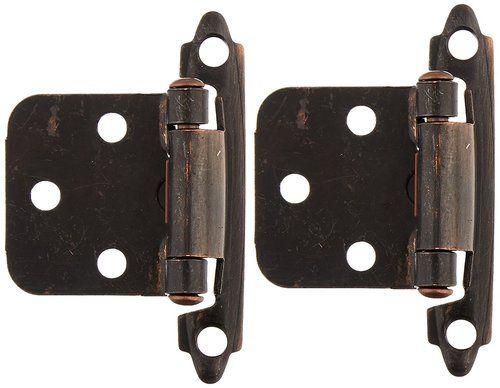 RV Designer H233 Cabinet 2 Pack Self Closing Hinge - Antique