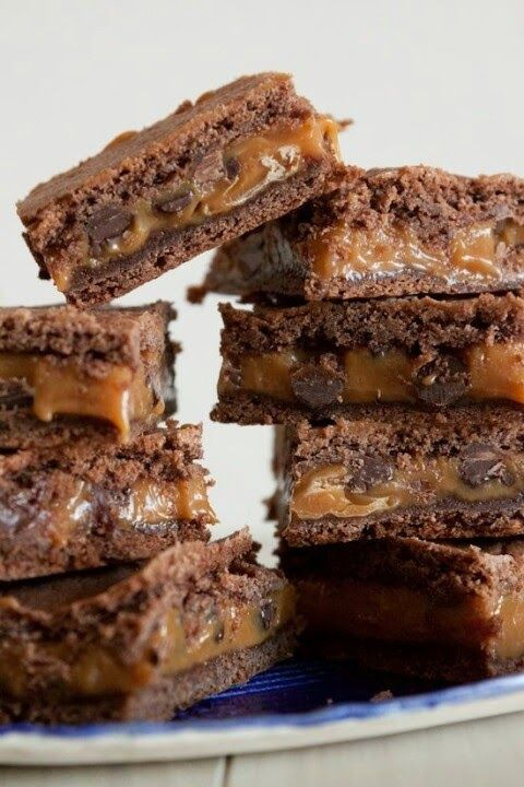 Knock you naked brownies -- not a fan of the name but they look amazing. OMG these look like the brownie I had at the schools carnival, if so it was freaking amazing!!!!!