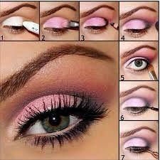 Bildresultat för rózsaszín füstös smink