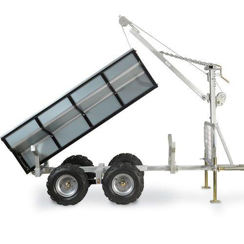 DR Мощность Versa Трейлер: 1 тонна коммерческого класса Utility Trailer:
