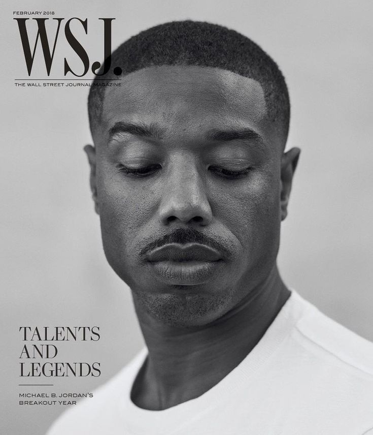 "Michael B. Jordan discusses ""Black Panther"", Relationships as he covers Wall Street Journal Magazine's ""Talents and Legends"" Issue"
