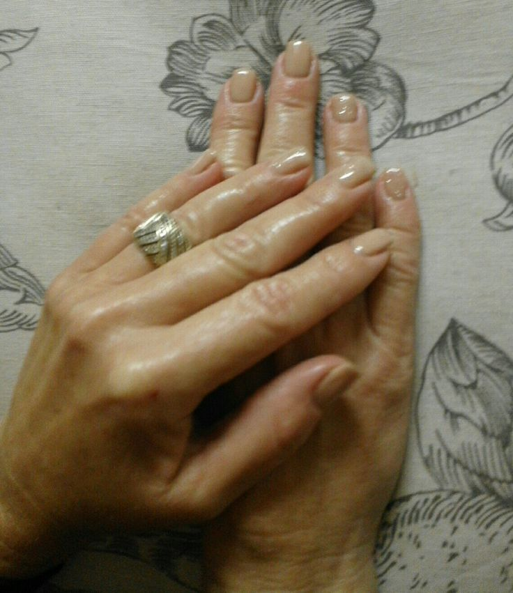 Nude with 4bling nails gel