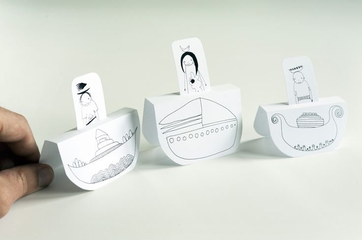 People Paper Boats | Made by Joel