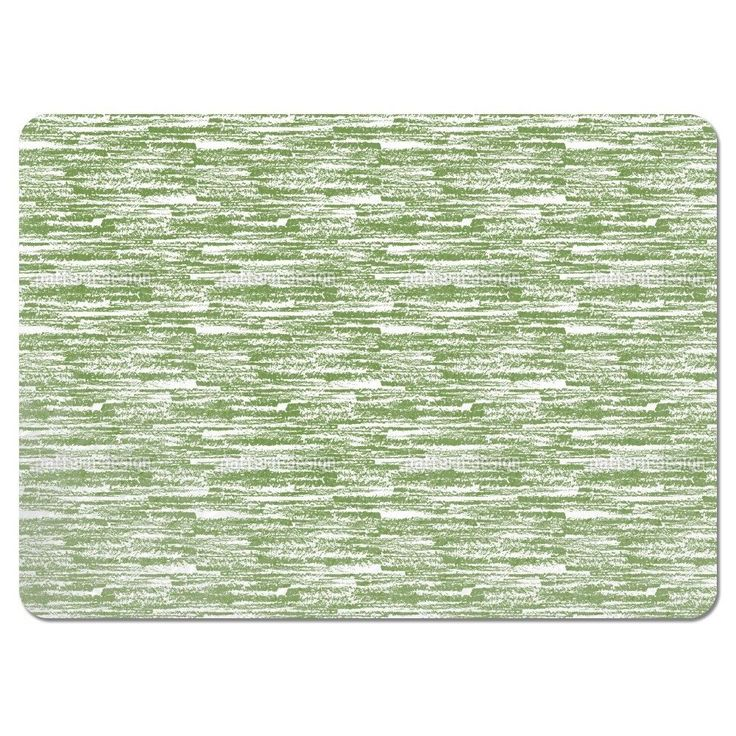 Uneekee Graphit Green Placemats (Set of 4) (Graphit Green Placemat) (Polyester)