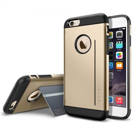 Spigen iPhone 6 Case Slim Armor S [Harga: Rp 375.000]